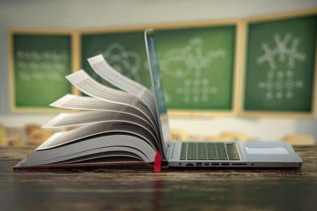 Digisprong van boek naar laptop